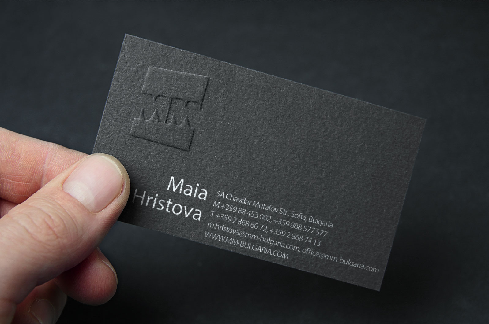 Business cards design princeps advertising agency magicingreecefo Choice Image