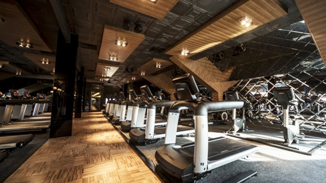 Fitnessraum modern  The newest ultra-modern gym from the chain Pulse Fitness & Spa ...